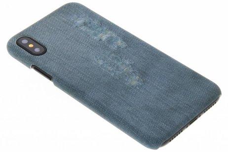 Design Hardcase Backcover voor iPhone X / Xs - Jeans