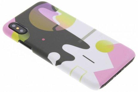 Design Hardcase Backcover voor iPhone X / Xs - Art
