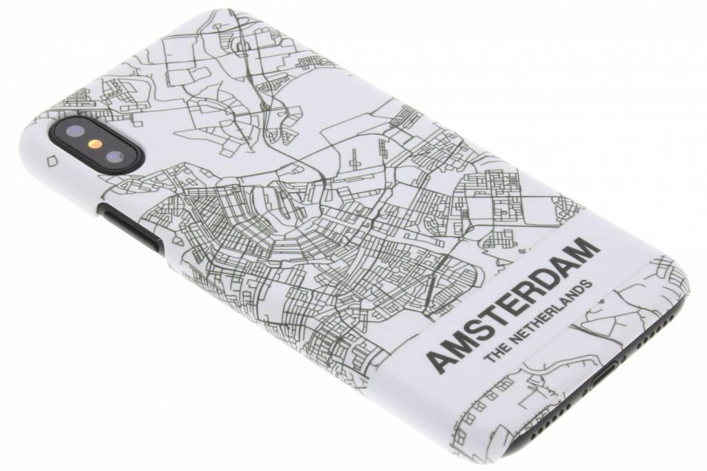 Design Hardcase Backcover voor iPhone X / Xs - Amsterdam
