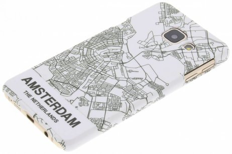 Design Hardcase Backcover voor Samsung Galaxy A3 (2016) - Amsterdam