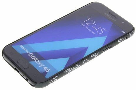 Samsung Galaxy A5 (2017) hoesje - Design Hardcase Backcover voor