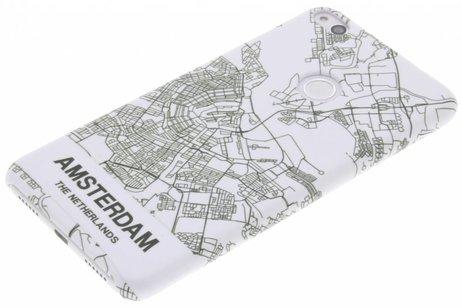 Design Hardcase Backcover voor Huawei P8 Lite (2017) - Amsterdam