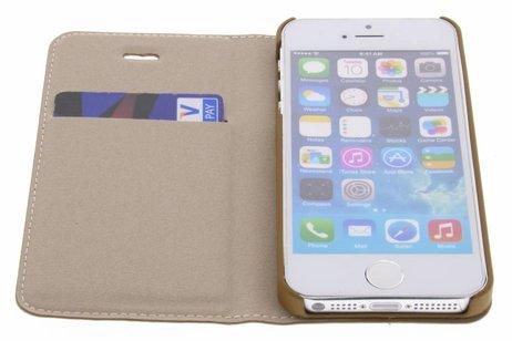 Hama Guard Booktype voor iPhone SE / 5 / 5s - Bruin