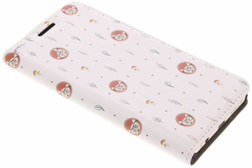 Design Hardcase Booktype voor Samsung Galaxy A3 (2016) - Egel
