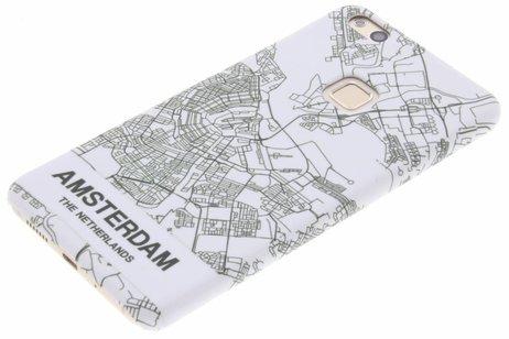 Design Hardcase Backcover voor Huawei P10 Lite - Amsterdam