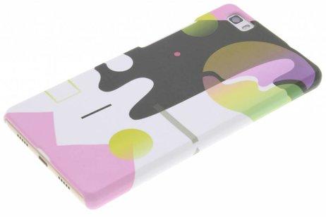 Design Hardcase Backcover voor Huawei P8 Lite - Art