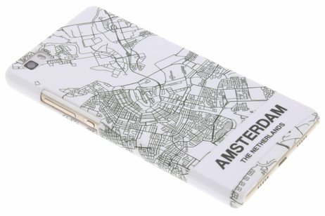 Design Hardcase Backcover voor Huawei P8 Lite - Amsterdam