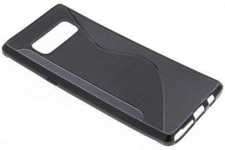 S-line Backcover voor Samsung Galaxy Note 8 - Zwart