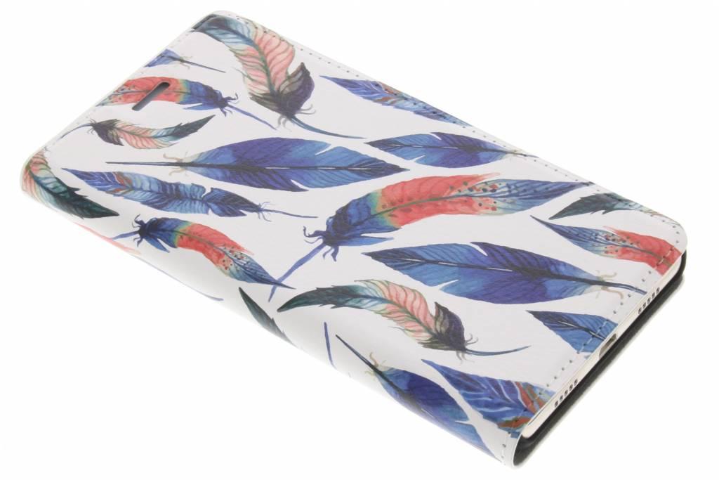 Design Hardcase Booktype voor Huawei P8 Lite - Ibiza Feather