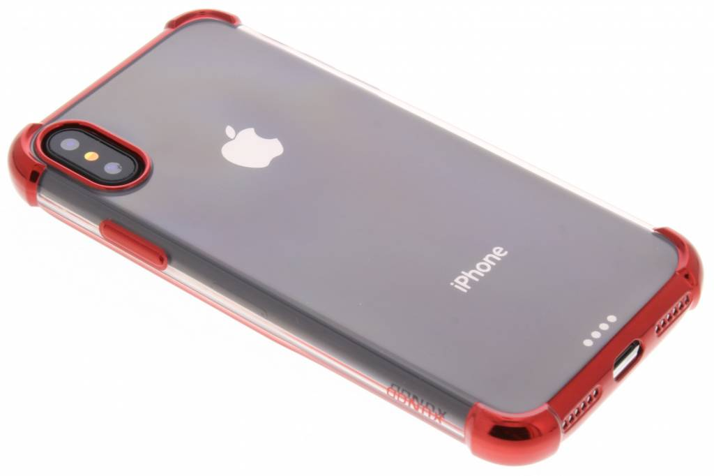 360° Armor Backcover voor iPhone X / Xs - Rood