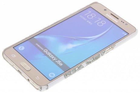 Samsung Galaxy J5 (2016) hoesje - Design Hardcase Backcover voor