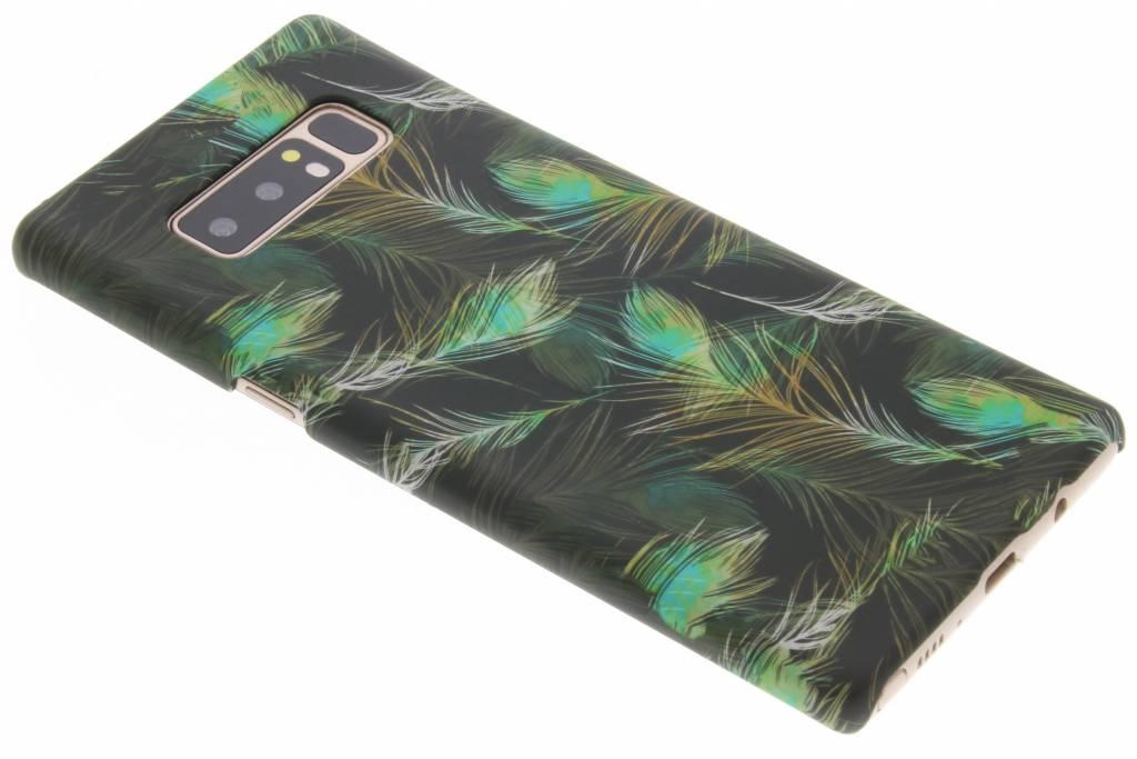 Design Hardcase Backcover voor Samsung Galaxy Note 8 - Pauw Zwart