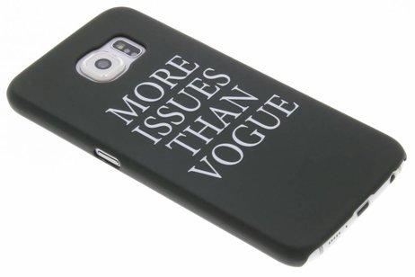 Design Hardcase Backcover voor Samsung Galaxy S6 - Quote