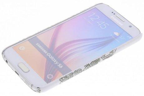 Samsung Galaxy S6 hoesje - Design Hardcase Backcover voor