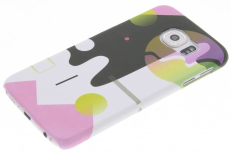 Design Hardcase Backcover voor Samsung Galaxy S6 - Art