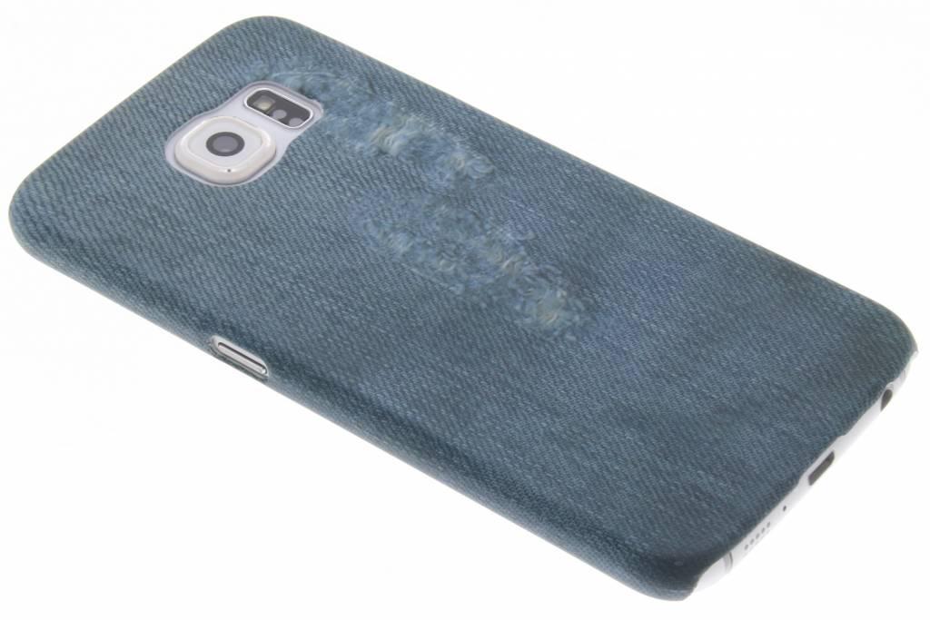 Design Hardcase Backcover voor Samsung Galaxy S6 - Jeans