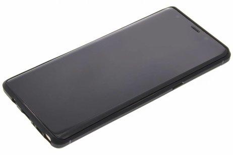 Brushed Backcover voor Samsung Galaxy Note 8 - Zwart