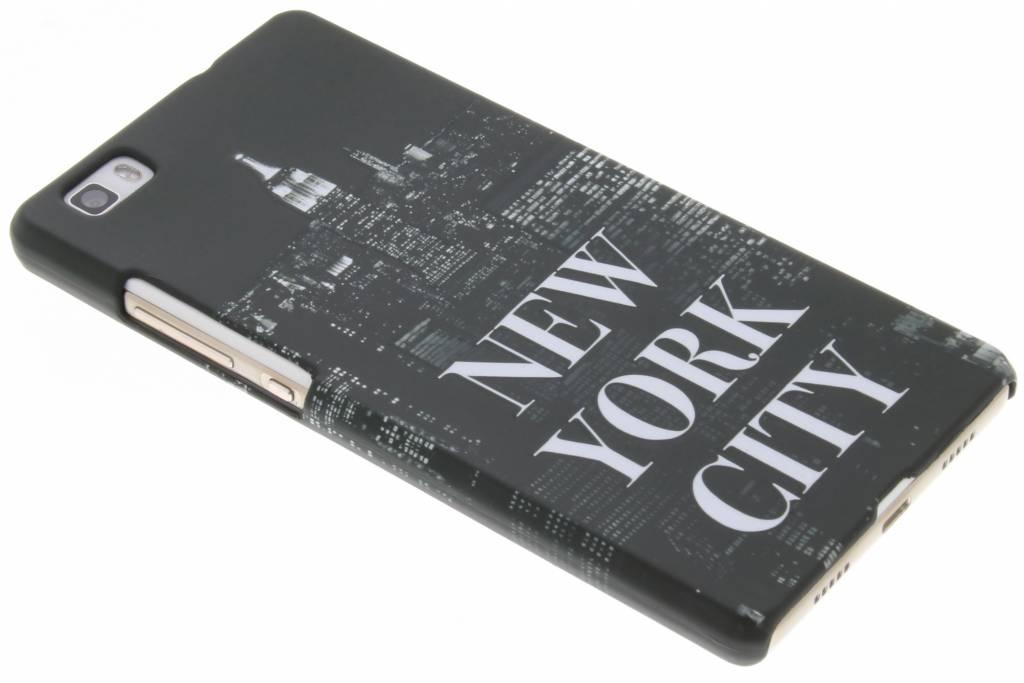 Design Hardcase Backcover voor Huawei P8 Lite - New York