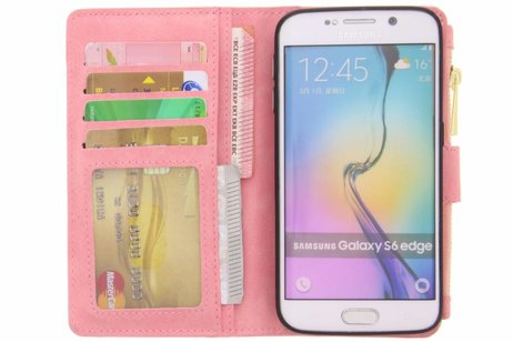 Samsung Galaxy S6 Edge hoesje - Luxe Portemonnee voor Samsung