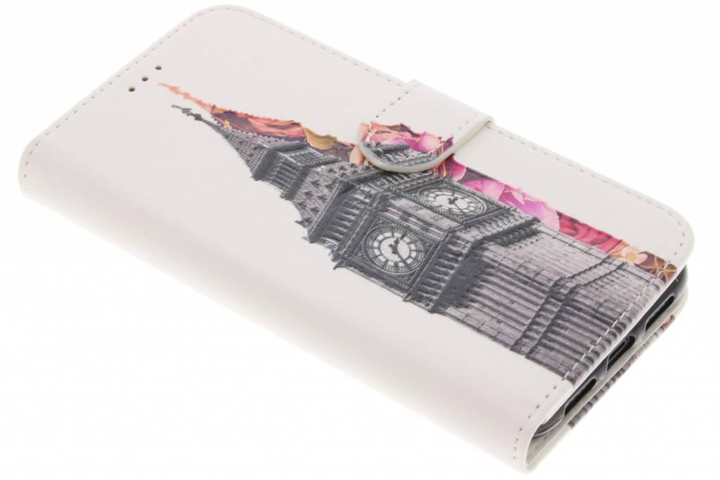 Design Softcase Booktype voor iPhone X / Xs - Big Ben
