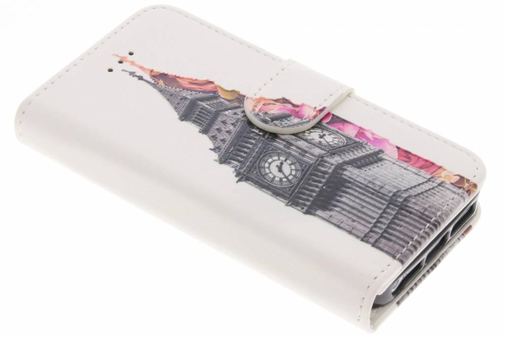 Design Softcase Booktype voor iPhone SE / 5 / 5s - Big Ben