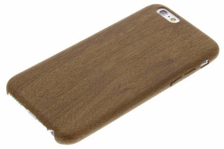iPhone 6 / 6s hoesje - Houten Softcase Backcover voor