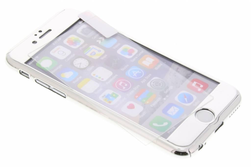 360° Effen Protect Backcover voor iPhone 6 / 6s - Zilver
