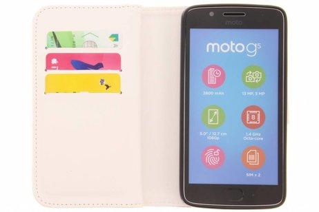 Design Portemonnee 9 slots voor Motorola Moto G5