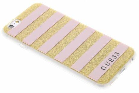 Guess Roze Stripes Gel Case voor de iPhone 6 / 6s