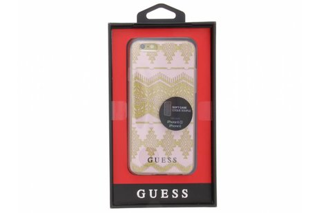 Guess Tribal Gel Case voor de iPhone 6 / 6s - Roze