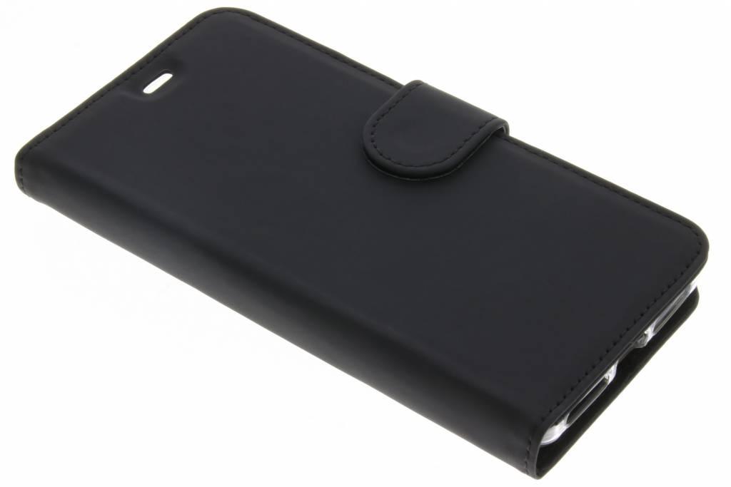 Accezz Wallet Softcase Booktype voor General Mobile 4G / GM5 - Zwart