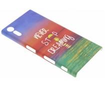Design Hardcase Backcover Sony Xperia XZ