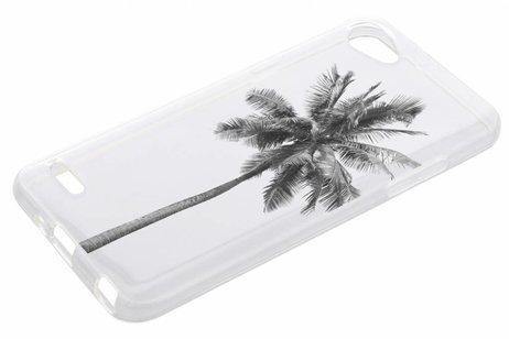 Design Backcover voor LG Q6 - Palmtree