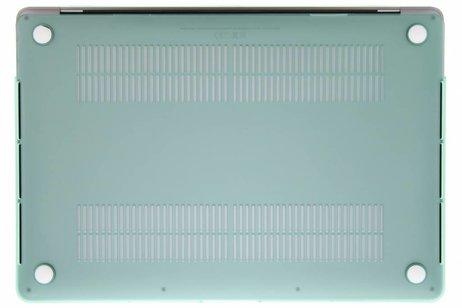 Design Hardshell Cover voor MacBook Pro Retina 15.4 inch Touch Bar - Mintgroen
