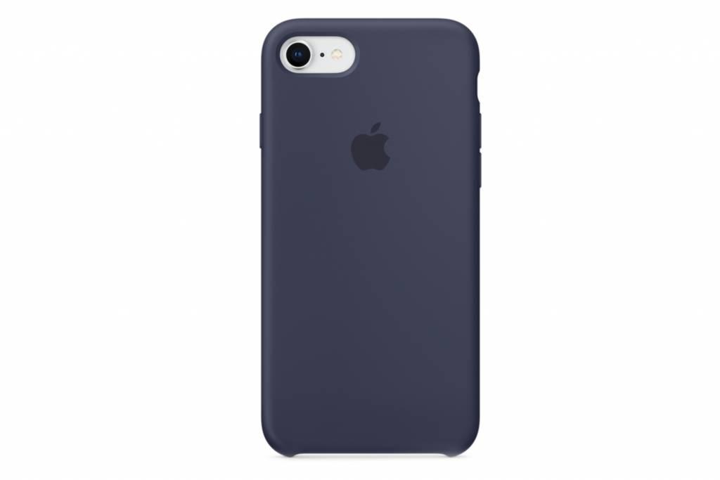 Blauw Silicone Case iPhone 8 / 7