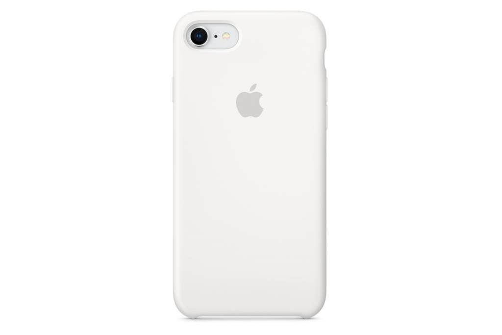 Wit Silicone Case iPhone 8 / 7