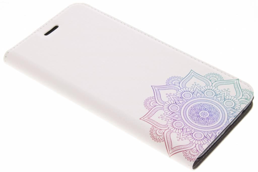 Design Hardcase Booktype voor OnePlus 5 - Mandala Multicolor