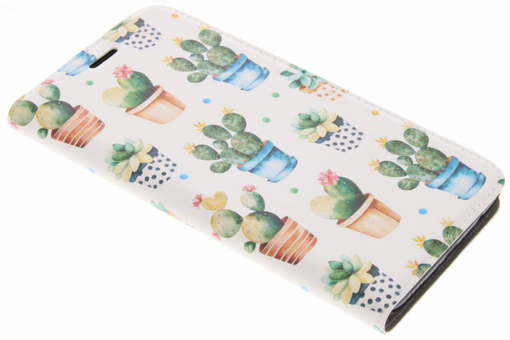 Design Hardcase Booktype voor OnePlus 5 - Cactus