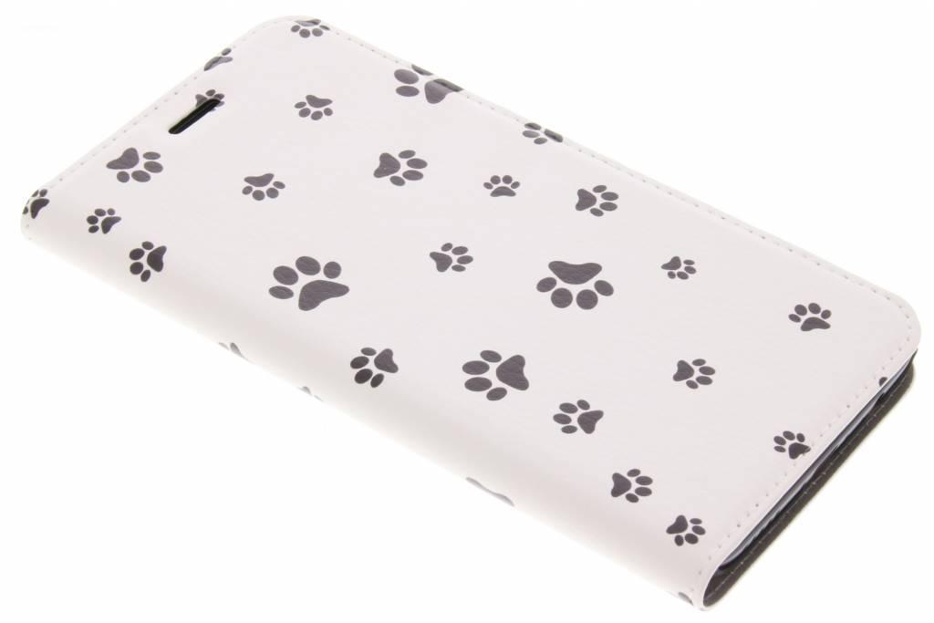 Design Hardcase Booktype voor OnePlus 5 - Paws