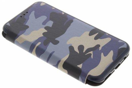 OnePlus 5 hoesje - Army Slim Folio Booktype