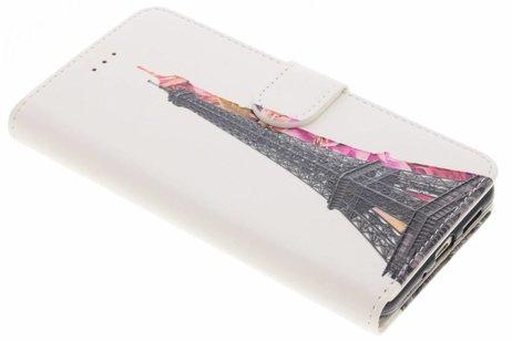 Design Softcase Booktype voor Huawei P10 Lite - Eiffeltoren