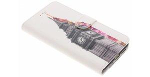 Design Softcase Booktype Huawei P10 Lite