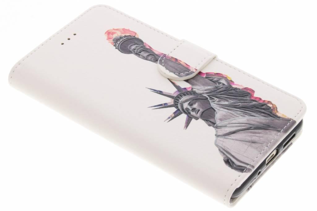 Design Softcase Booktype voor Huawei P10 Lite - Vrijheidsbeeld