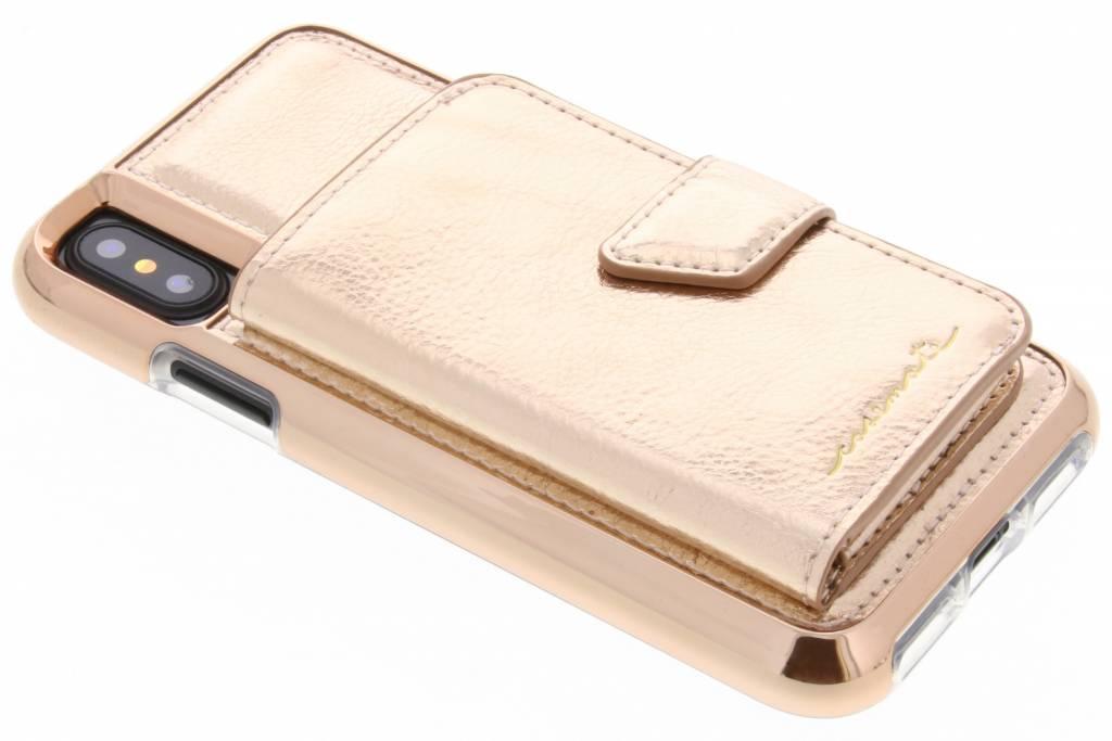 Case-Mate Rosé Gouden Compact Mirror Case voor de iPhone Xs / X