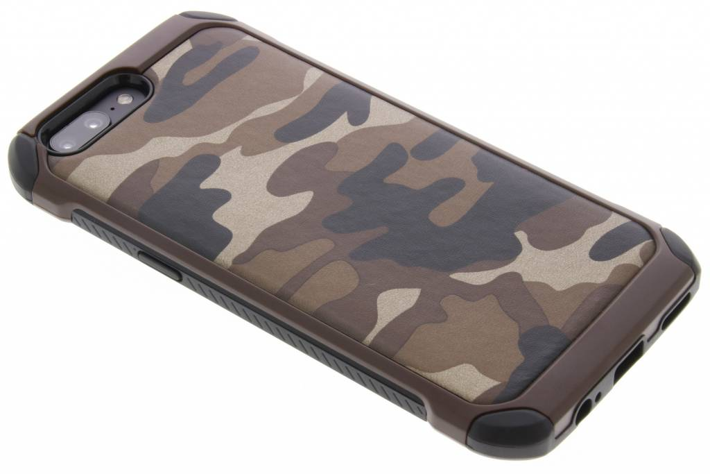 Army Defender Backcover voor OnePlus 5 - Bruin