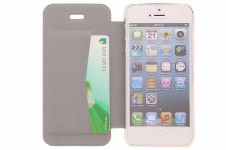 Be Hello Booktype voor iPhone SE / 5 / 5s - Wit