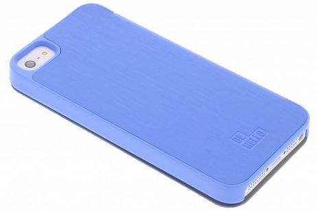 Be Hello Booktype voor iPhone SE / 5 / 5s - Blauw