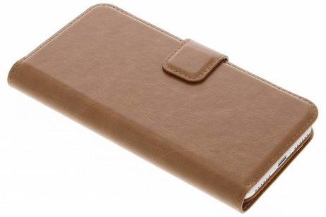 Be Hello Wallet Booktype voor iPhone 8 / 7 / 6s / 6 - Bruin