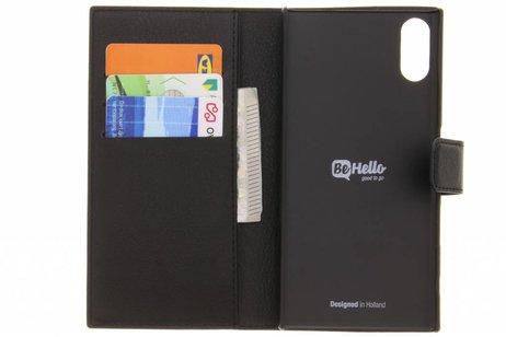 Be Hello Wallet Booktype voor Sony Xperia XZs - Zwart