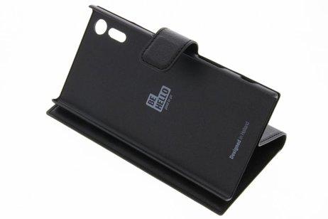 Be Hello Wallet Booktype voor Sony Xperia XZ - Zwart